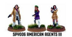 Photo of American Agents III (3) (SPY006)