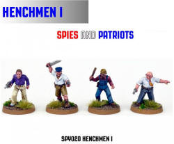 Photo of Henchmen I (4) (SPY020)