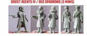 Photo of Soviet Agents IV / Red Sparrows (3) (SPY009)