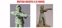 Photo of British Agents II (2) (SPY012)