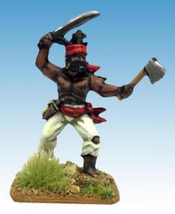 Photo of Boukman, St Domingue Slave Revolt Leader (T-Car25)