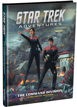 Photo of STAR TREK ADVENTURES: COMMAND DIVISION SUPPLEMENT (MUH051063)