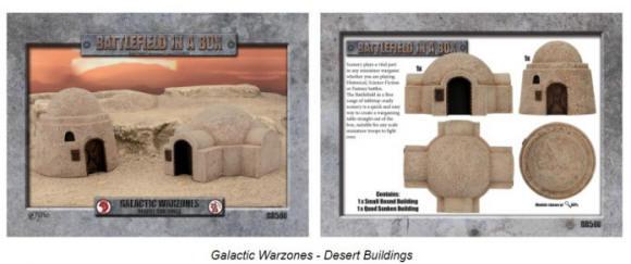 Photo of Galactic Warzones - Desert Buildings (BB580)