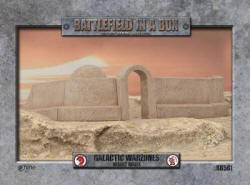 Photo of Galactic Warzones - Desert Walls (BB581)