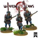 Photo of Ashigaru with Teppo (musket) 2 (WB-SAM107)
