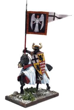 Photo of Mounted Ordenstaat War Banner & Bearer (SWBB15)
