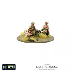 Photo of Bolt Action - British 8th Army MMG Team (403011010)