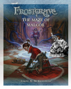 Photo of The Book: Maze of Malcor Nickstarter (N:MoMlvl1)