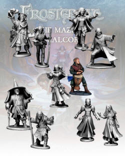 Photo of The Wizards: Maze of Malcor Nickstarter (N:MoMlvl2)