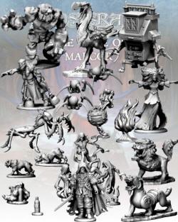 Photo of The Monsters: Maze of Malcor Nickstarter (N:MoMlvl3)