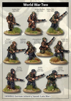 Photo of Late War German Infantry Section I (in smocks) (SWWB03)
