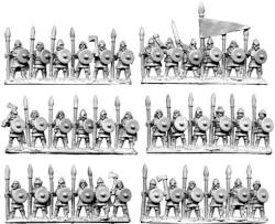 Photo of 10mm Horse Tribe Infantry (TM12)