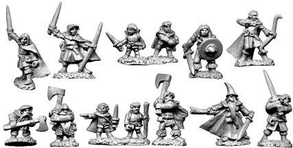 Photo of 10mm Heroes and Halflings (TM10)
