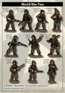 Photo of Panzer Lehr Grenadier Squad (SWWB01)