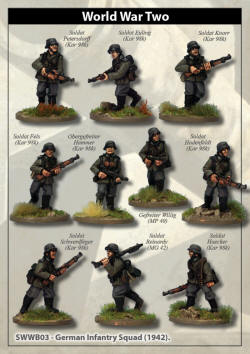 Photo of German Infantry Squad (1942) (SWWB02)