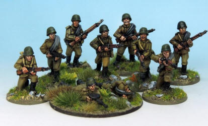 Photo of Soviet Army Squad III (SWWB09)