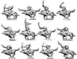 Photo of 10mm Orc  Wolf-Riders (TM6)