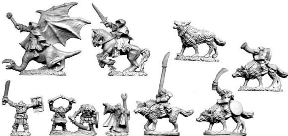 Photo of 10mm Evil Characters (TM9)