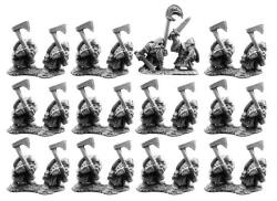 Photo of 10mm Dwarfs with Axes (TM21)