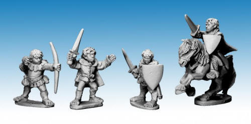 Photo of Halfling Heroes (HF01)