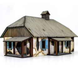 Photo of Ukrainian Rural House (28S-WAW-117)
