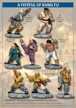 Photo of Kung Fu Squad: Martial Arts Heroes (AFOKF04)