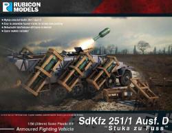 Photo of SdKfz 251/1 Ausf. D Stuka zu Fuss (28mm) (RU011)