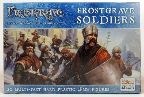 Photo of Frostgrave Soldiers  (FGVP01)