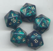 Photo of Frostgrave Dice (D20)