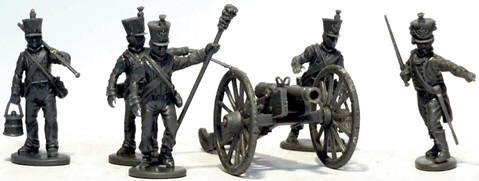 Photo of 28mm Napoleonic French Artillery 1812 to 1815 (VX0018)
