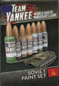 Photo of Team Yankee Soviet Paint Set (7 paints) (TYP191)
