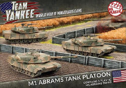 Photo of M1 Abrams Tank Platoon (x5) (Plastic) (TUBX01)