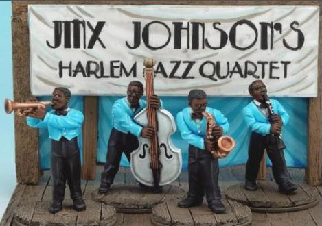 Photo of Jinx Johnson's Harlem Jazz Quartet (PGJ 20)