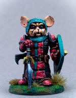 Photo of MOUSE WARRIOR WITH SWORD AND SHIELD (DSM8071)