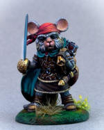 Photo of MOUSE SWASHBUCKLER WITH RAPIER (DSM8072)