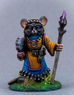 Photo of MOUSE DRUID WITH STAFF (DSM8073)