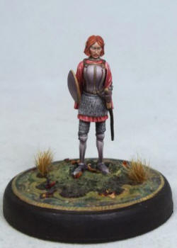 Photo of Tara Swiftblade - Female Elven Warrior with Sword/Shield (DSM4604)