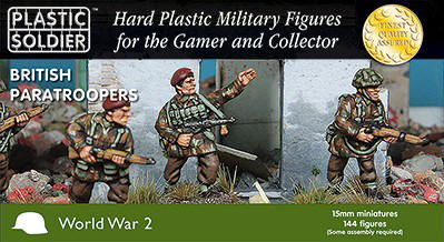 Photo of 15mm British Paratroopers 1944-45 (WW2015015)