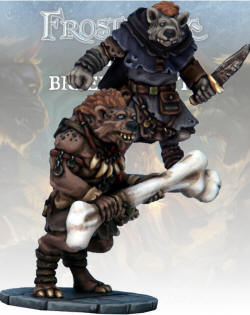 Photo of Gnoll Thief & Barbarian (FGV216)