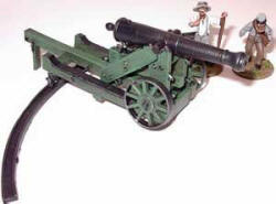 Photo of 24pdr Siege Gun on a Barbette Carriage (TA-ACW05)