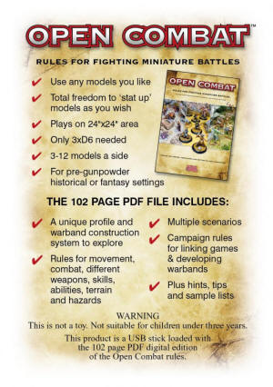 Photo of Open Combat PDF Version (BP1515pdf)