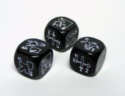 Photo of Open Combat specialist dice - Black (OC-BLK-DICE)