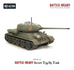 Photo of T-34/85 Battle Ready Tank (WG-BAT-3)