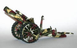 Photo of British Mark V 8 inch Howitzer. (ART04)