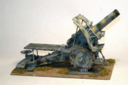 Photo of German Krupp 42cm Howitzer