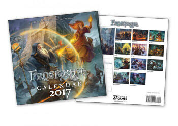 Photo of Frostgrave Calender (FGVCAL)