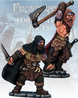 Photo of Barbarian Thief and Berserker. (FGV223)