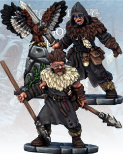 Photo of Barbarian Crow Master & Javelineer (FGV228)