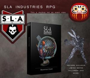 Photo of SLA Industries RPG Book (BP1557)