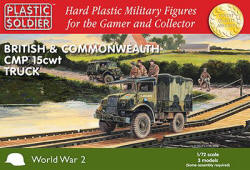 Photo of 1/72nd British and Commonwealth CMP 15cwt truck (WW2V20024 )